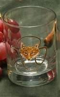 Double Old Fashion Glasses - Fox & Whip - Set of 4