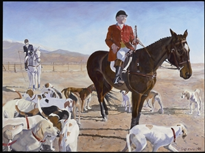 """Opening '07-West Hills Hounds at Tejon"" - Original"