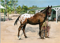 """A Horse Named Duke"" Book & Print"