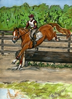 Eventer Galway Downs - Print