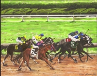 """Spring Meet at Keenland"" - Lambda Print"