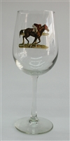 Wine Glasses - Race Horse - Set of 4