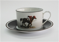 Cup & Saucer - Race Horse