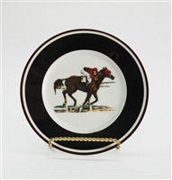 Bread & Butter Plate - Race Horse