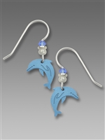 Sienna Sky Earrings-Blue Dolphin