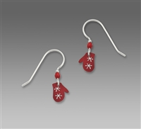 Sienna Sky Earring-Red Mittens