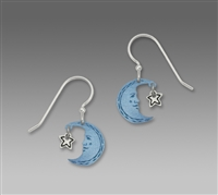 Sienna Sky Earrings - Blue Moon Kissing a Star