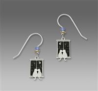 Sienna Sky Earrings - Kitty Pals in Window