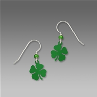 Sienna Sky Earrings-Lucky 4 Leaf Clover