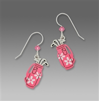 Sienna Sky Earrings-Pink Daisy Golf Bag