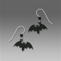 Sienna Sky Earring-Scary Halloween Bat