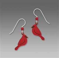 Sienna Sky Earrings-Cardinal in Profile