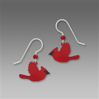Sienna Sky Earrings-Cardinal in Flight
