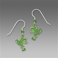 Sienna Sky Earrings-Striped Frog