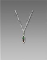 Sienna Sky Necklace- Tall Pine in Oval Frame
