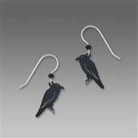 Sienna Sky Earrings-Black Raven