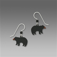 Sienna Sky Earrings-Black Bear