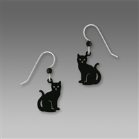 Sienna Sky Earrings- Black Cat