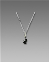 Sienna Sky Necklace- Black Cat
