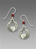 Sienna Sky Earrings-Winged Heart