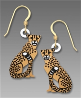 Sienna Sky Earrings - Cheetah