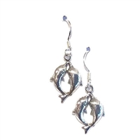 Sterling Silver Dangle Earrings- Dolphins