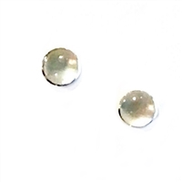 Sterling Silver Post Earrings- Mother of Pearl