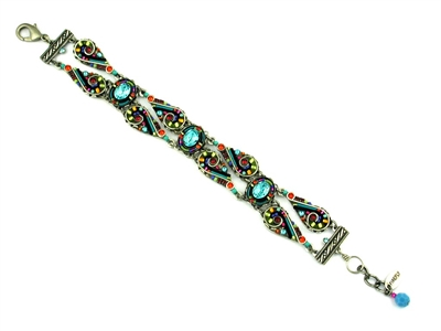 Firefly Lavish Line Bracelet-Multi Color