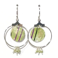 Wide Mouth Frog Earrings