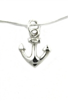 Sterling Silver Petite Anchor Pendant