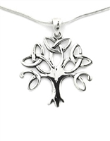 Sterling Silver Celtic Tree Pendant