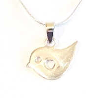 Sterling Silver Pendant- Love Bird