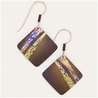 Holly Yashi Earrings- Seashore- Brown