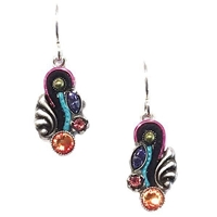 Firefly Earrings-Small Organic-Multi Color