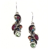 Firefly Earrings-Large Organic-Multi Color