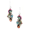 Firefly Earrings-Medium Organic-Multi Color