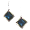 Firefly Earrings-Geometric Diamond-Multi Color