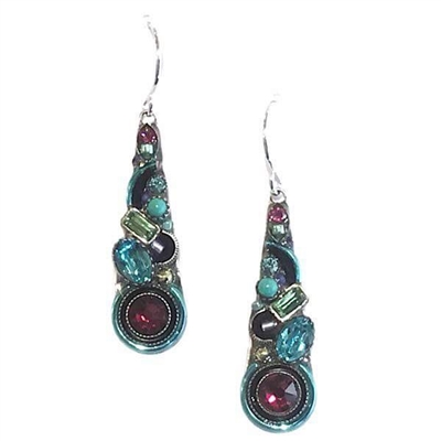 Firefly Earrings-Calypso Teardrop-Light Turquoise