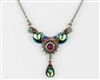 Firefly Necklace-Organic-Multi Color