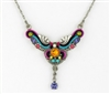 Firefly Necklace-Small Organic-Multi Color