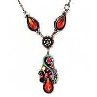 Firefly Necklace- Lily Drop- Multi Color