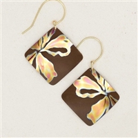 Holly Yashi Earings- Sedona- Brown/Peach
