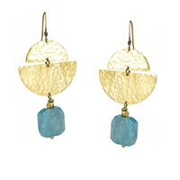 Apatite Leverback Earrings