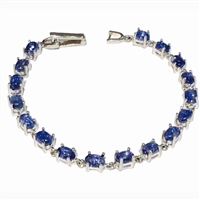 Sterling Silver Bracelet- Kyanite