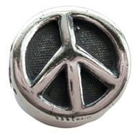 Peace Sign Bead
