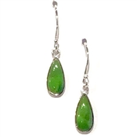 Sterling Silver Green Turquoise Earring