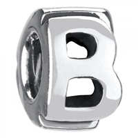 1/2 price- Chamilia Bead -Initial-B-Retired