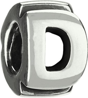1/2 price- Chamilia Bead -Initial-D-Retired