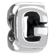1/2 price- Chamilia Bead -Initial-G-Retired