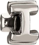 1/2 price- Chamilia Bead -Initial-I-Retired
